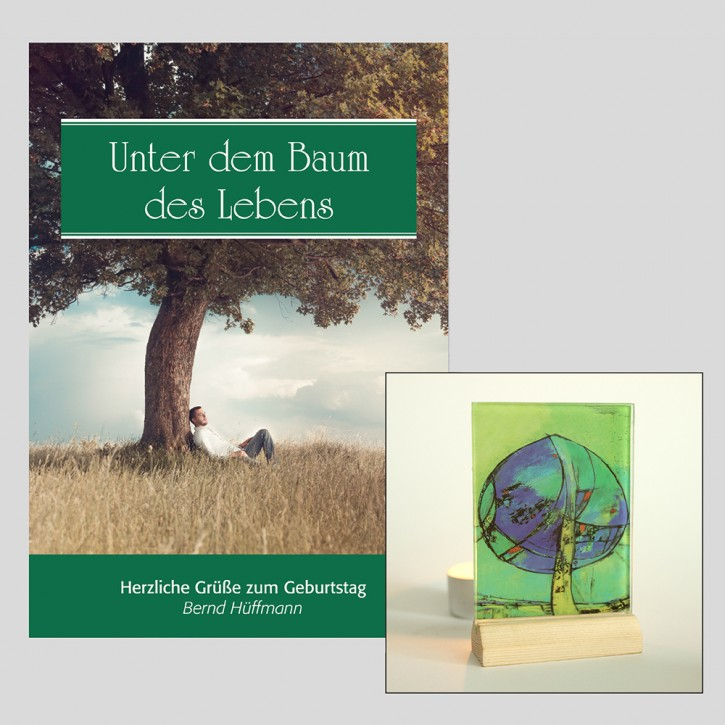 Kombi: Lichtsymbol Lebensbaum + Unter dem Baum des Lebens