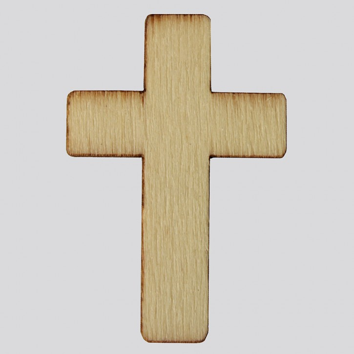 Holzsymbol: Kreuz
