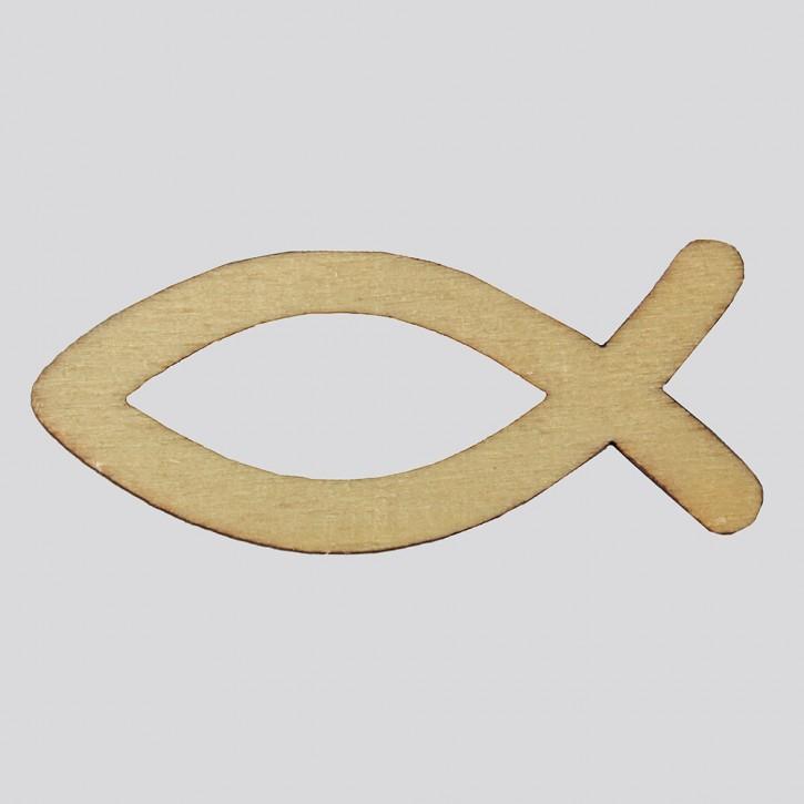 Holzsymbol: Ichthys