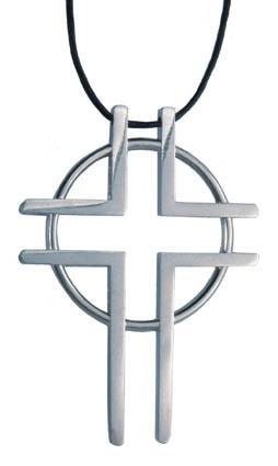 Anhänger: Kreuz  Weg zum Leben