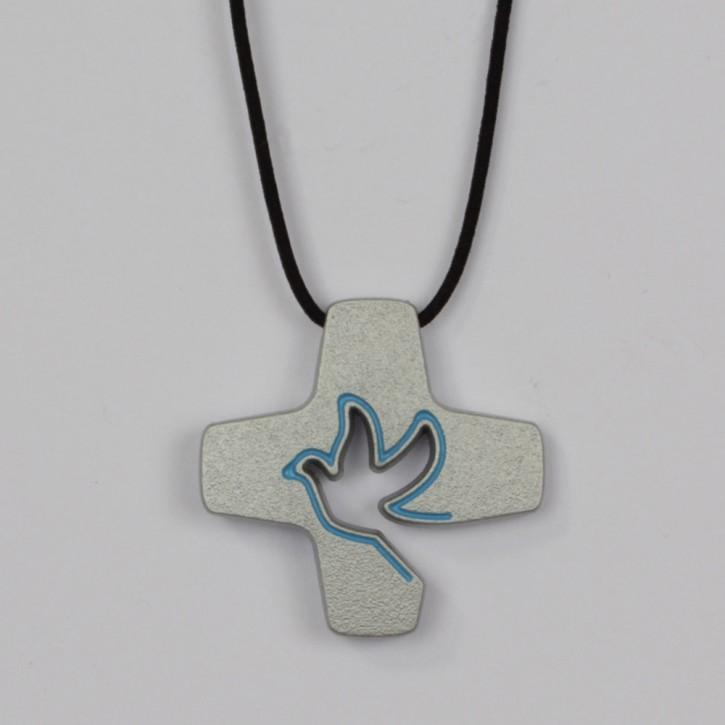 Anhänger Tauben-Kreuz