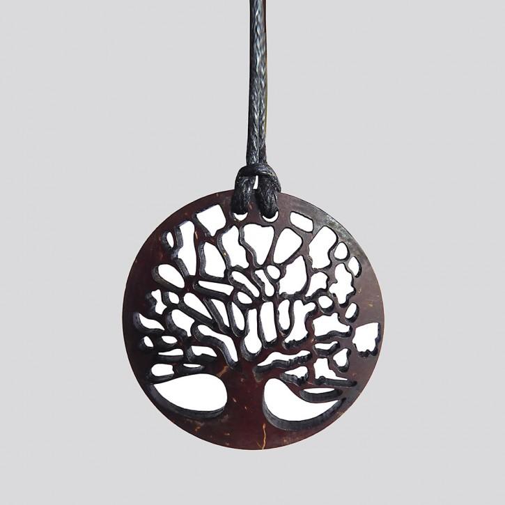 Anhänger Kokos Lebensbaum