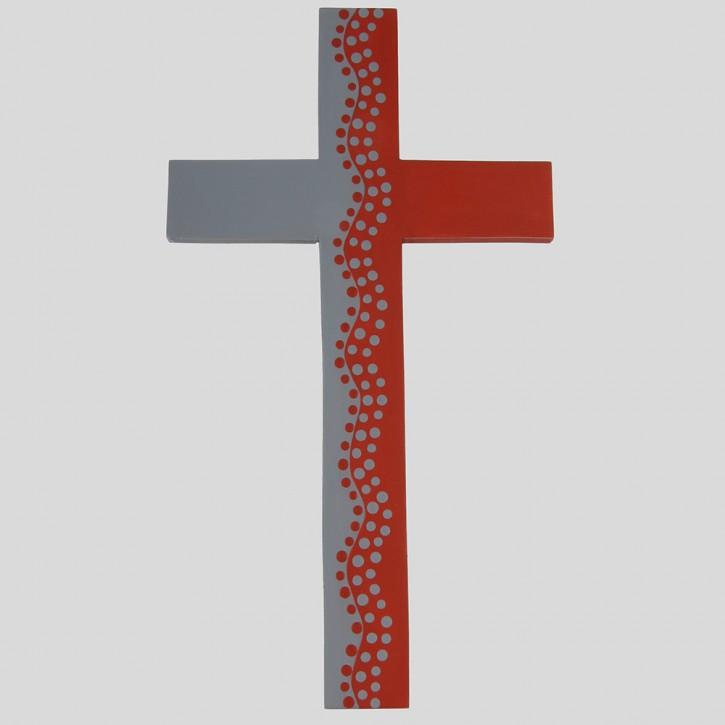 Holzkreuz Spuren zum Leben 30 cm