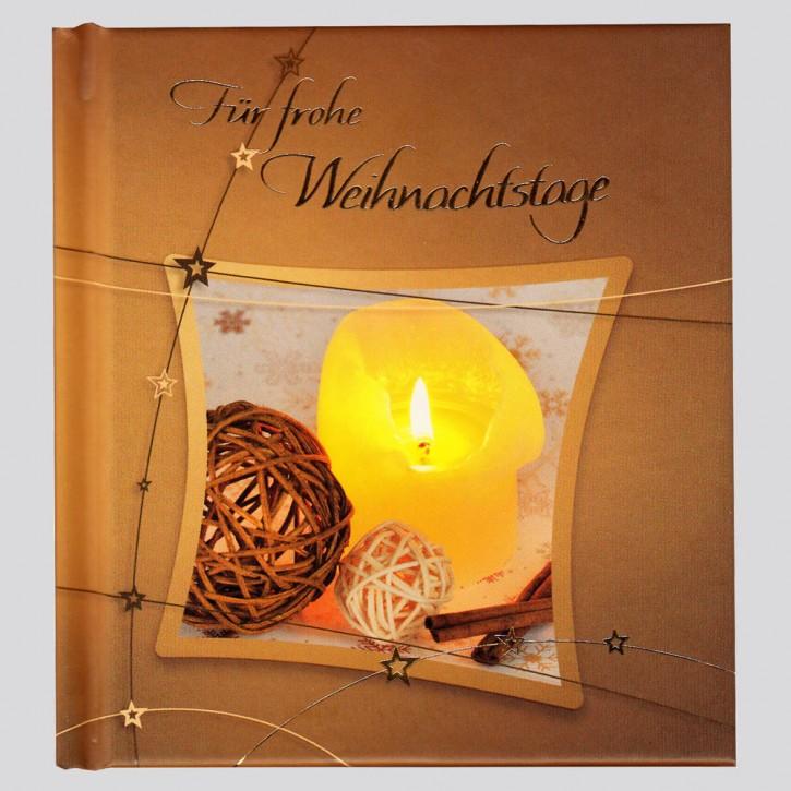 Für frohe Weihnachtstage