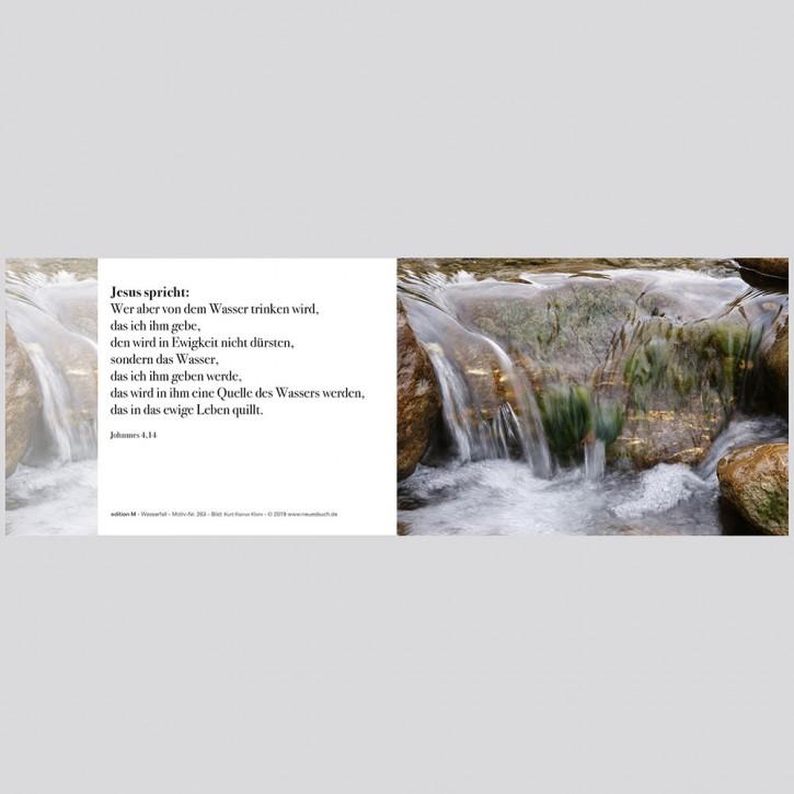 263+ Wasserfall mit Innentext