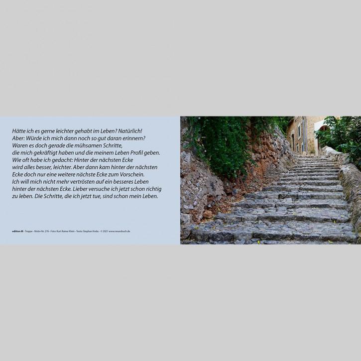 276+ Treppe mit Innentext