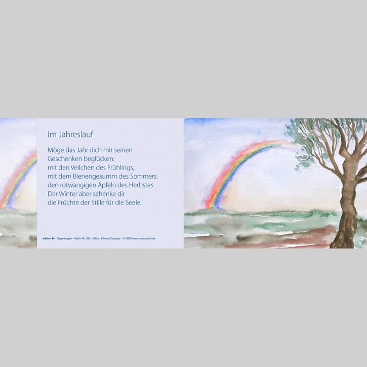 283+ Regenbogen mit Innentext