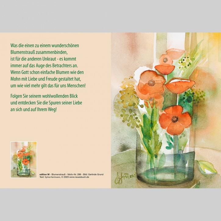 288+ Blumenstrauss mit Innentext