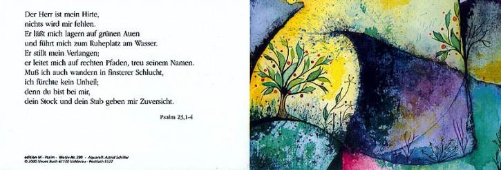 290+ Psalm 23 mit Innentext