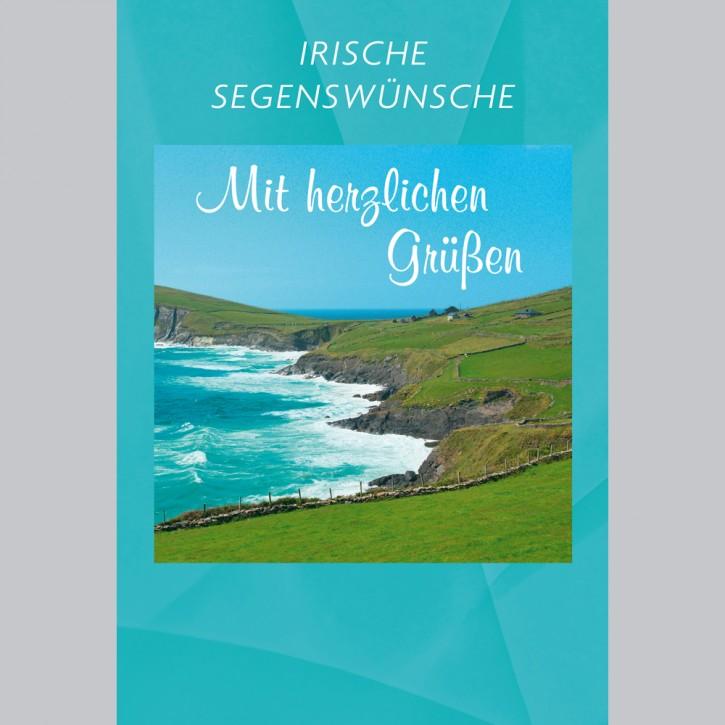 Irische Segenswünsche - Mit herzlichen Grüßen
