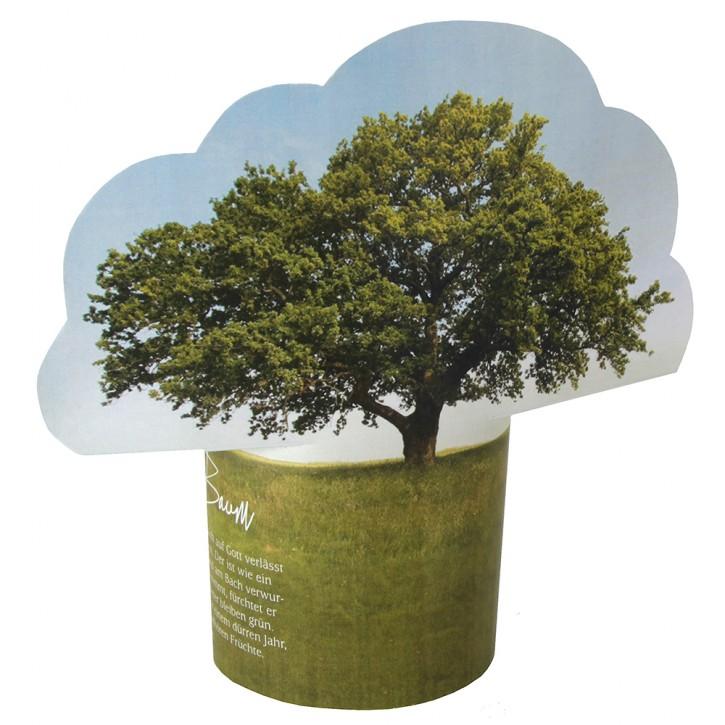 Gruß-Aufsteller Wie ein Baum