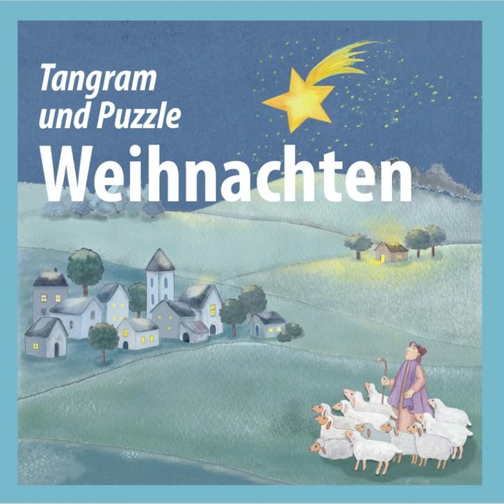 Tangram/Puzzle Weihnachten