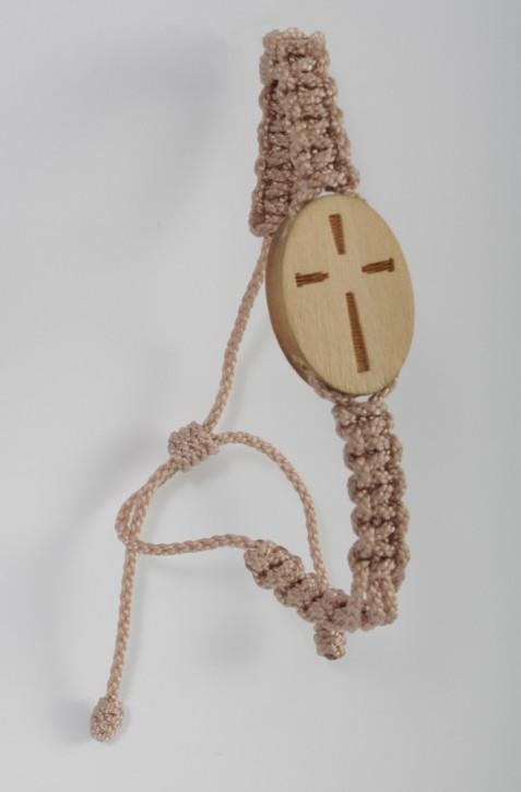Armband: Linienkreuz