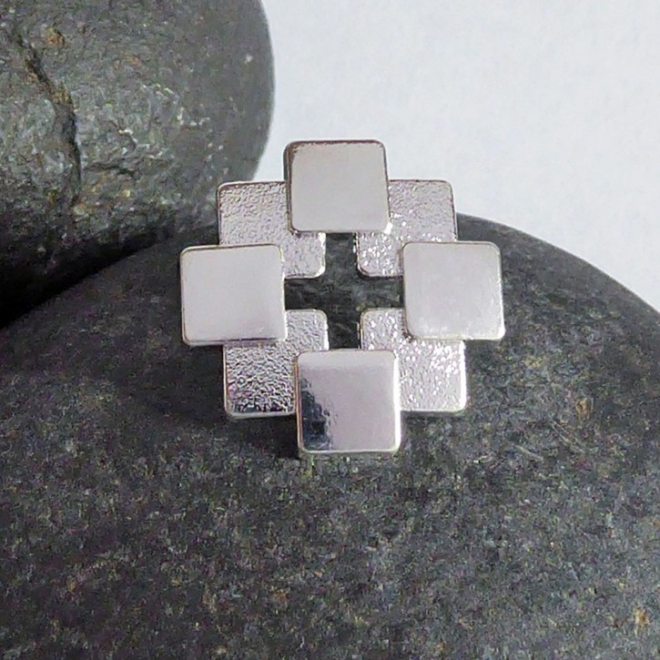 Pin Facettenkreuz