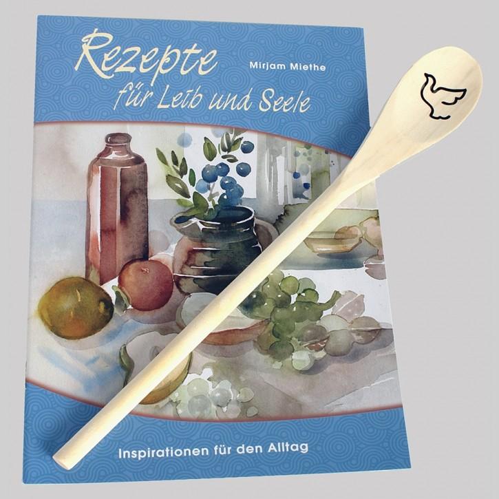 Kombi: Kochlöffel + Rezept für Leib und Seele