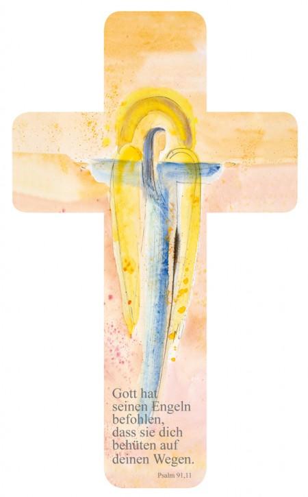 Verteilkreuz Engel mit Text