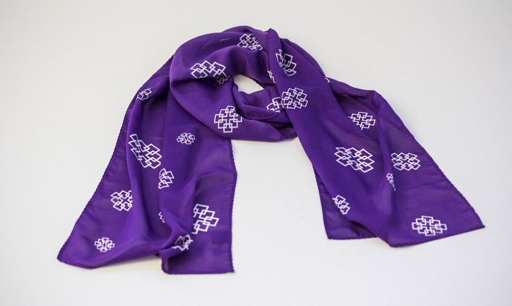 Schal Facettenkreuz