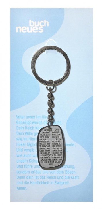Schlüsselanhänger: Vater unser