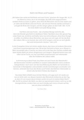 Urkunde/Gedenkblatt  Kelch mit Ähren und Trauben