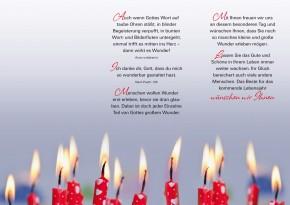 Leporello: Herzliche Glückwünsche zum Geburtstag