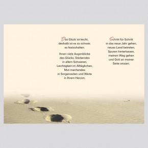 Leporello: Jeder Tag ist ein Geschenk