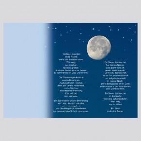 Leporello: Gott kennt alle Sterne mit Namen