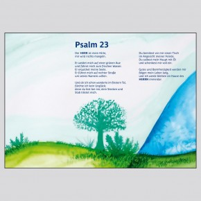 Leporello: Psalm 23