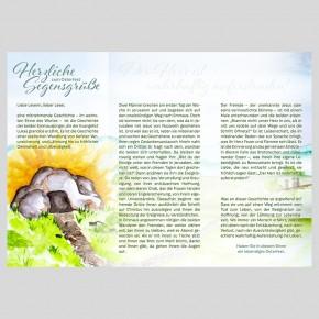Leporello: Ostergruß