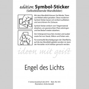 Symbol-Sticker Engel