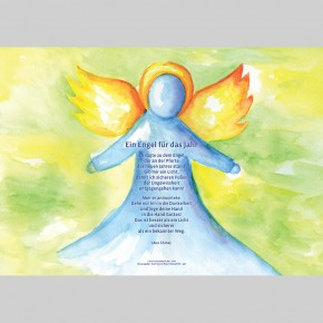 Gruß-Aufsteller Engel
