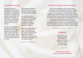 Eine Zeit zum Lieben (zur ev. Hochzeitsvorbereitung)