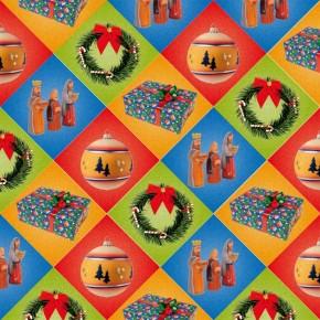 Tangram/Puzzle Weihnachten-Apfel