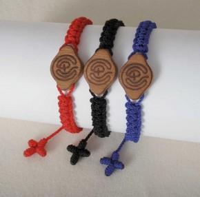 Armband: Labyrinth (rot)