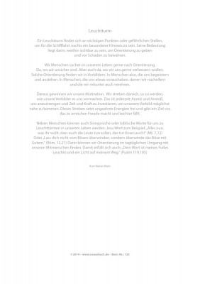 Urkunde/Gedenkblatt  Leuchtturm